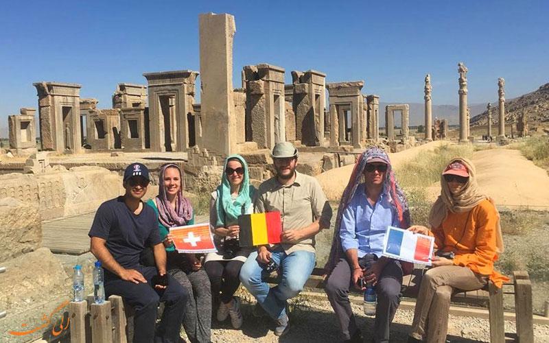 گردشگرانی در ایران