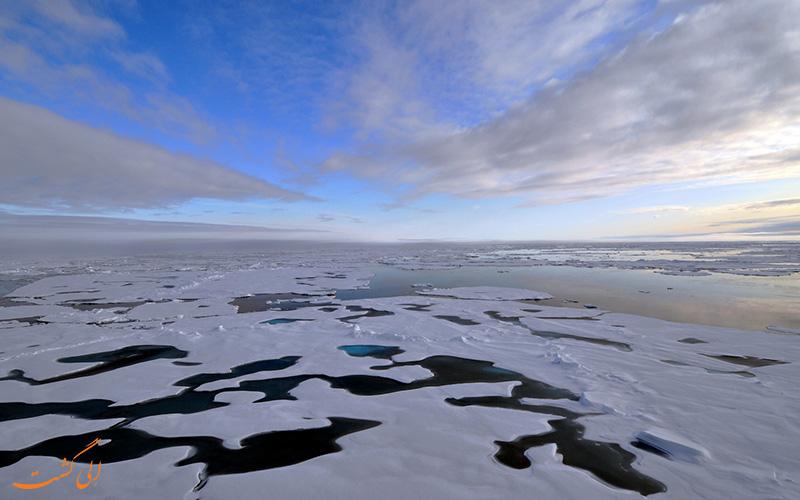 نفت در قطب شمال
