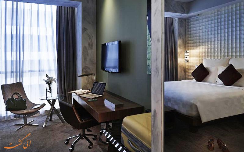 اتاقی در هتل پولمن جاکارتا سنترال پارک جاکارتا