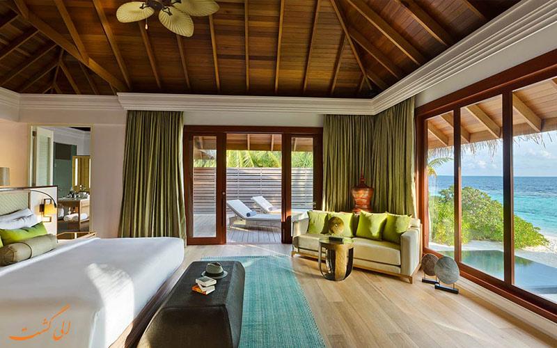 نمونه اتاق هتل دوسیت تانی مالدیو