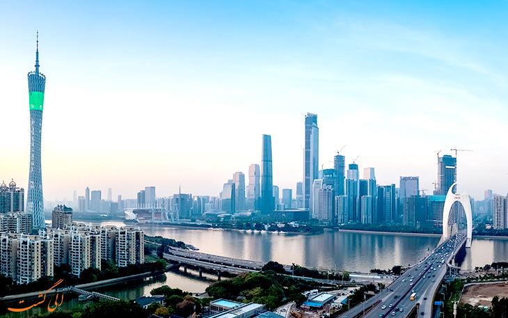 شهر گوانجو در چین