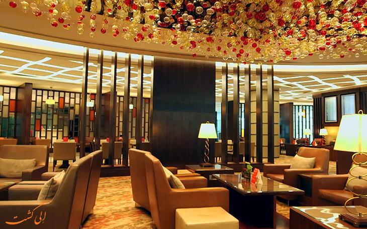 سالن استراحت هواپیمایی امارات