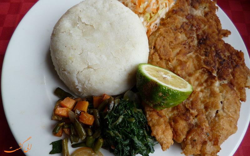 غذای کنیایی | اوگالی