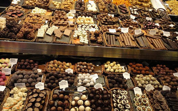 شکلات های شهر لیژ