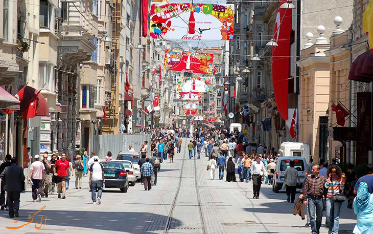 خیابان بشیکتاش استانبول