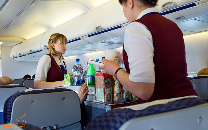 کد های رمزی مهمانداران در پروازهای طولانی مدت