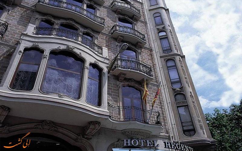 هتل اچ سی سی ریجنت بارسلونا Hotel HCC Regente