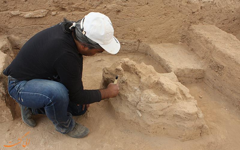 کشفیات باستان شناسی