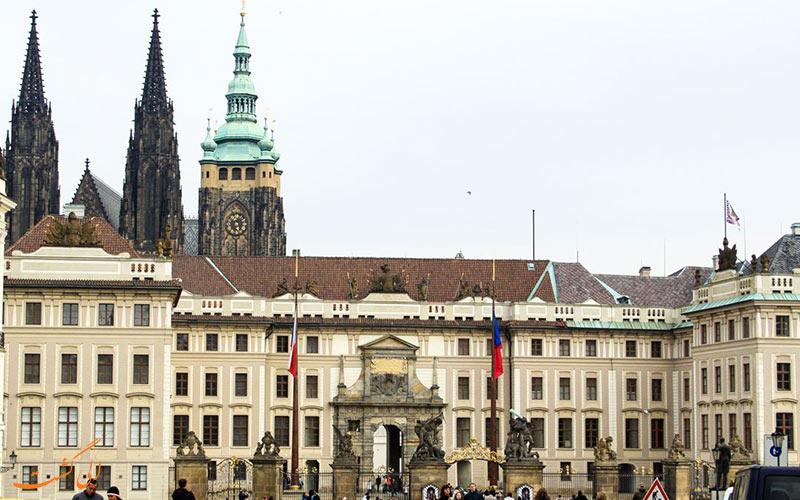 قلعه دیدنی پراگ