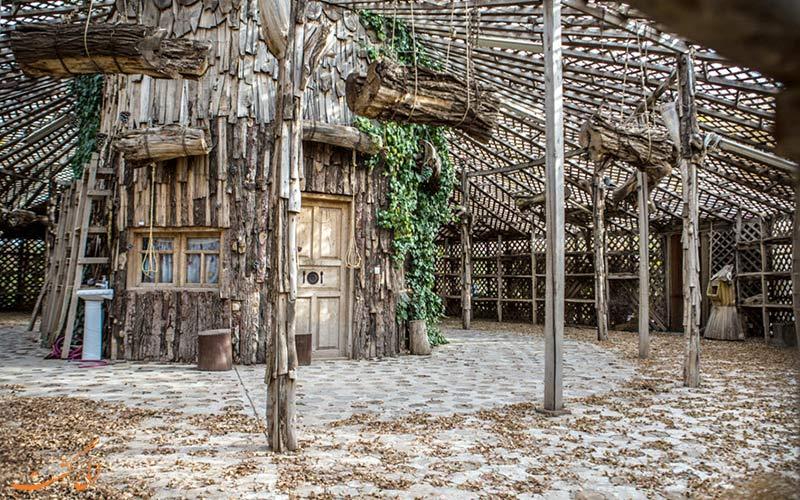 دهکده چوبین نیشابور-جاذبه های نیشابور