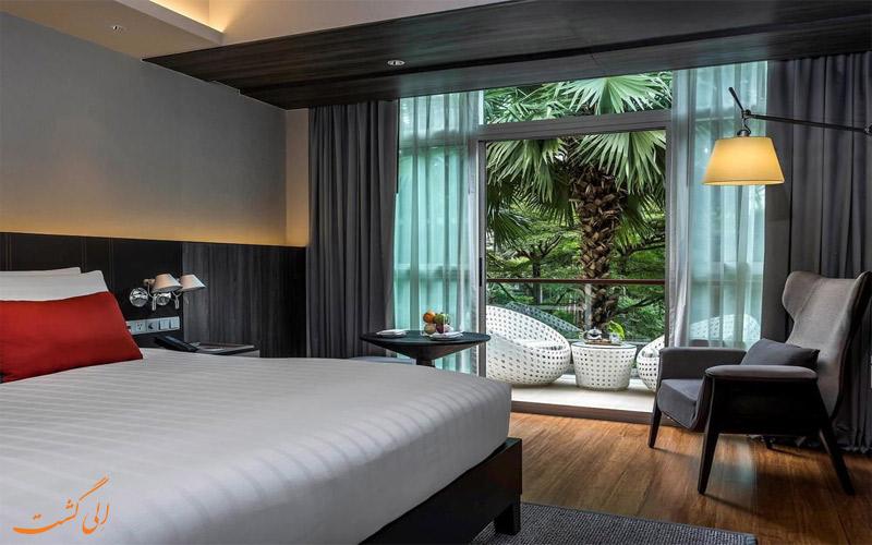 انواع اتاق های هتل پولمن بانکوک کینگ پاور