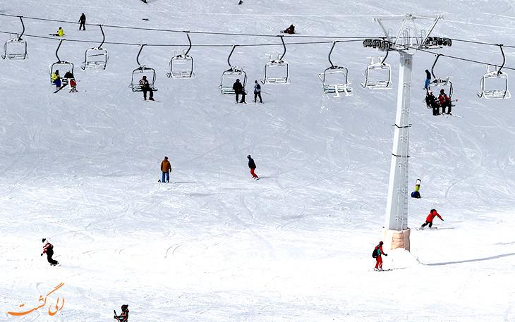 رونق گردشگری تهران با بارش برف