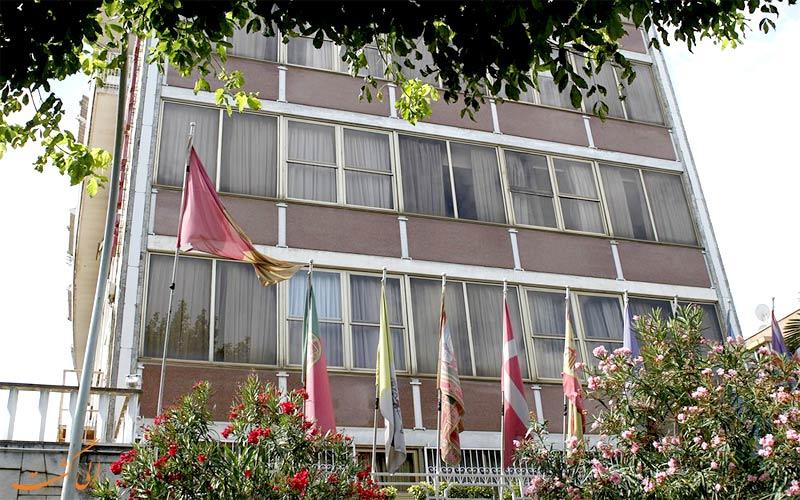امکانات تفریحی هتل گرند هرمیتاژ رم - باغ