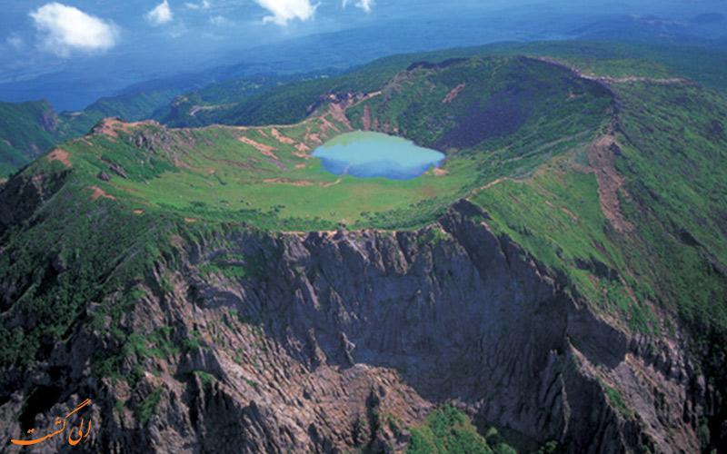 کوه آتشفشانی کره