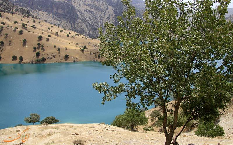 دریاچه ای در شهرکرد