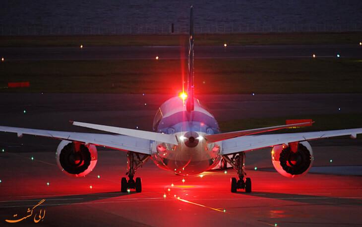 چراغ قرمز هواپیما