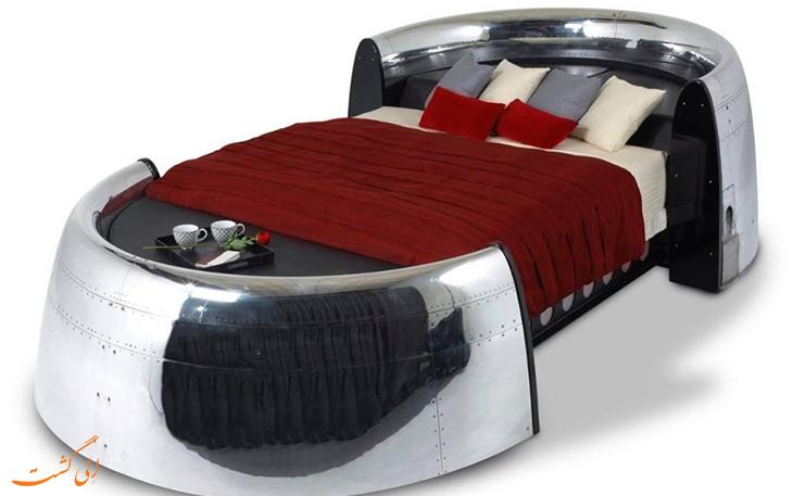 تبدیل هواپیما به تختخواب