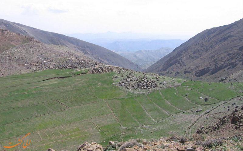 طبیعت روستای برگ جهان