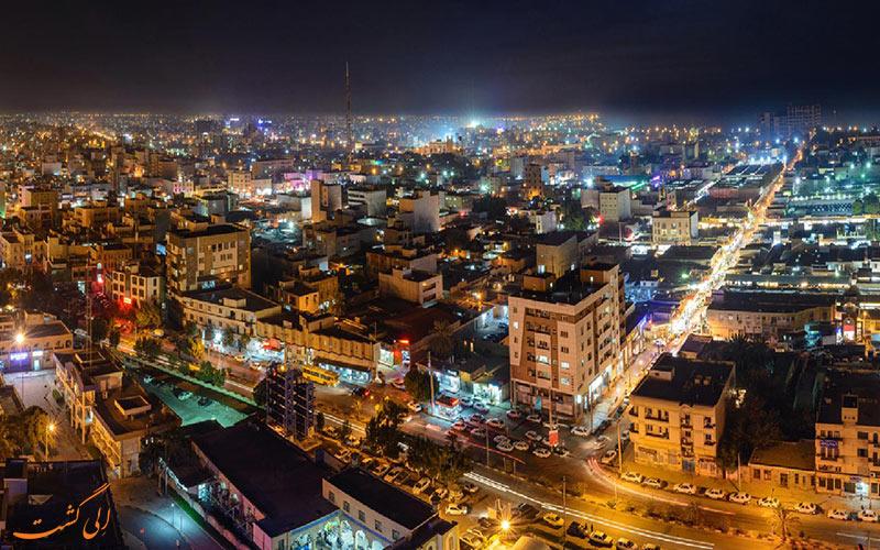 شهر زیبای بوشهر