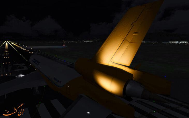 چراغ لوگوی هواپیما