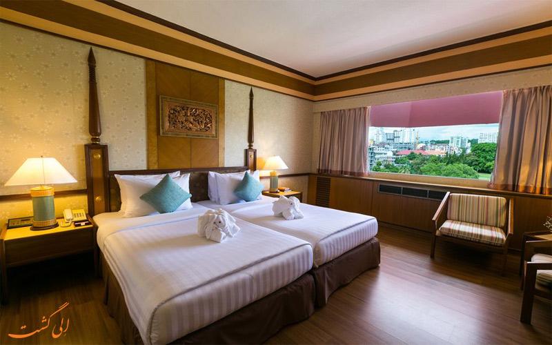 امکانات اتاق های هتل آسیا پاتایا