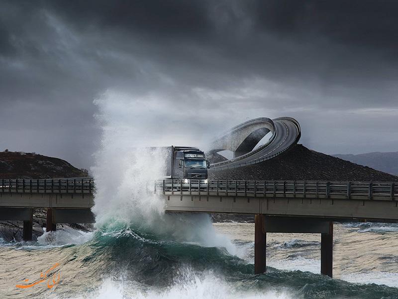 جاده ی اقیانوس آتلانتیک   خطرناک ترین جاده های جهان