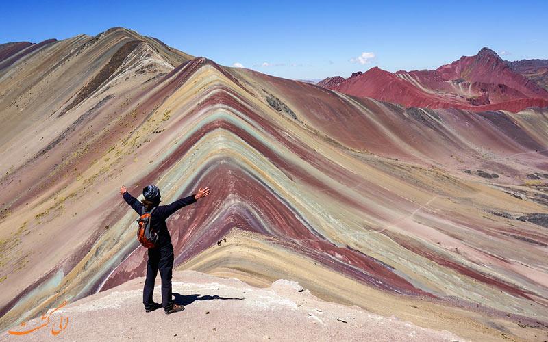 کوهستان رنگین کمانی