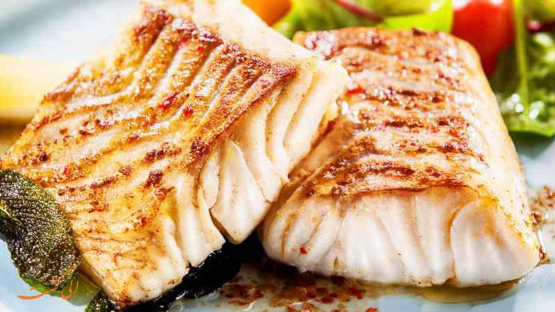 غذای Bacalao