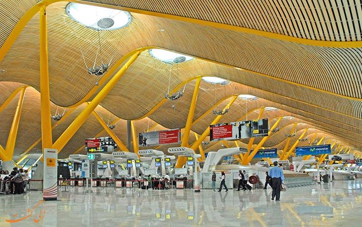 بزرگ ترین فرودگاه های جهان: باراخاس مادرید