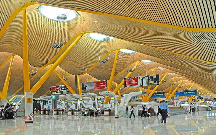 امکانات فرودگاه باراخاس مادرید