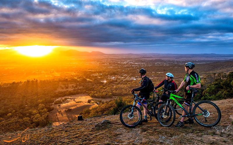 لوازم سفر با دوچرخه
