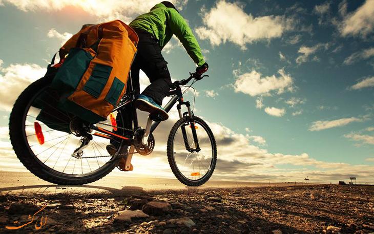 تجهیزات سفر با دوچرخه