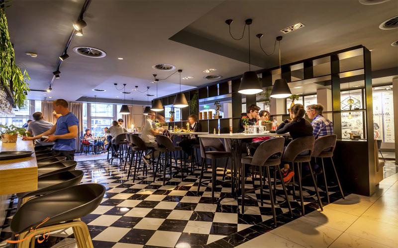 رستوران های هتل دای پورت ون کلیو آمستردام