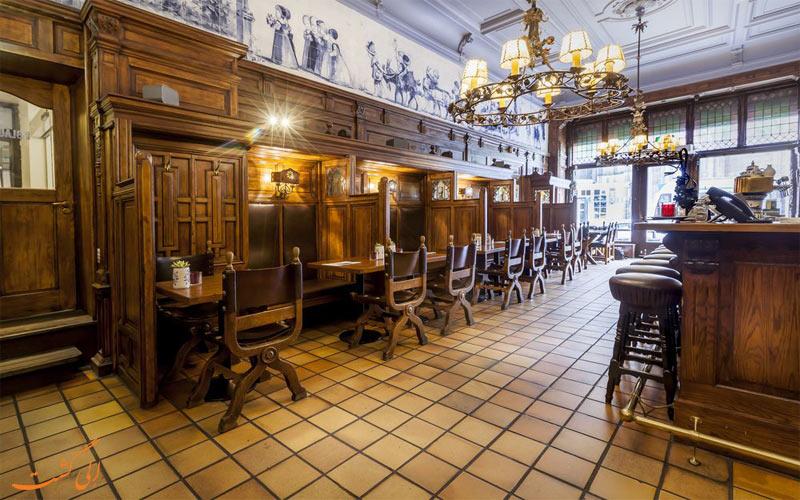 امکانات تفریحی هتل دو لوروپ آمستردام- کافه