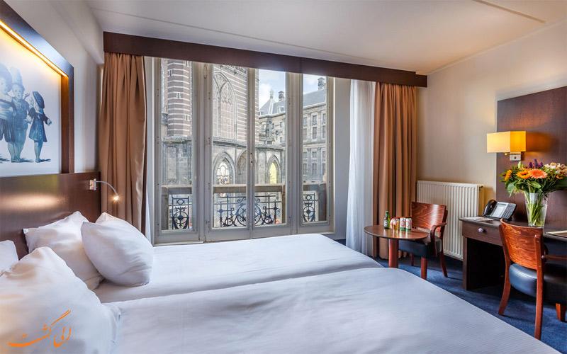 انواع اتاق های هتل دای پورت ون کلیو آمستردام