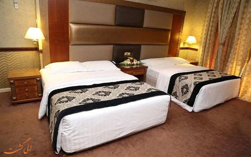 امکانات اتاق های هتل پالم دبی