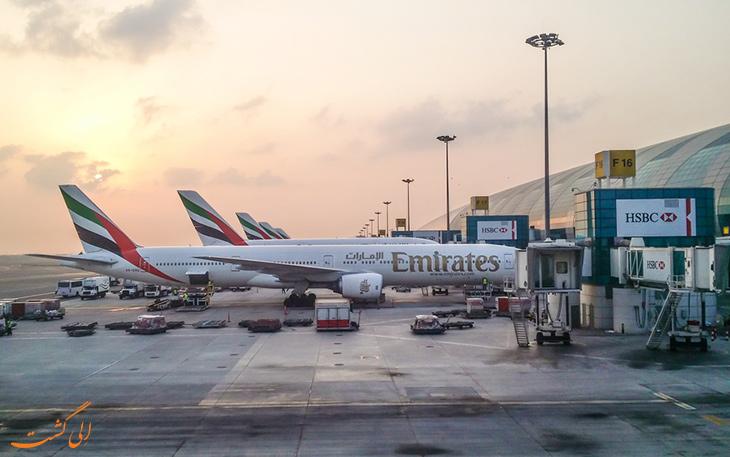 بزرگ ترین فرودگاه های جهان: فرودگاه دبی