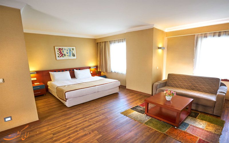 انواع اتاق های هتل فرونیا استانبول