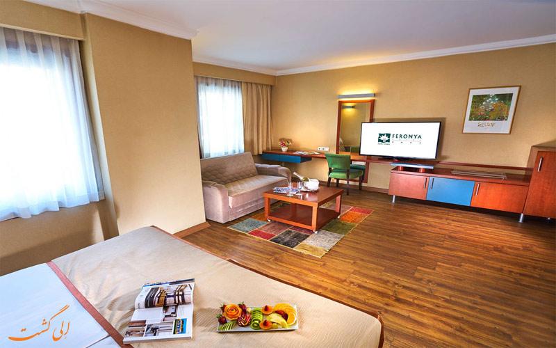 Feronya Hotel- eligasht.com اتاق ها