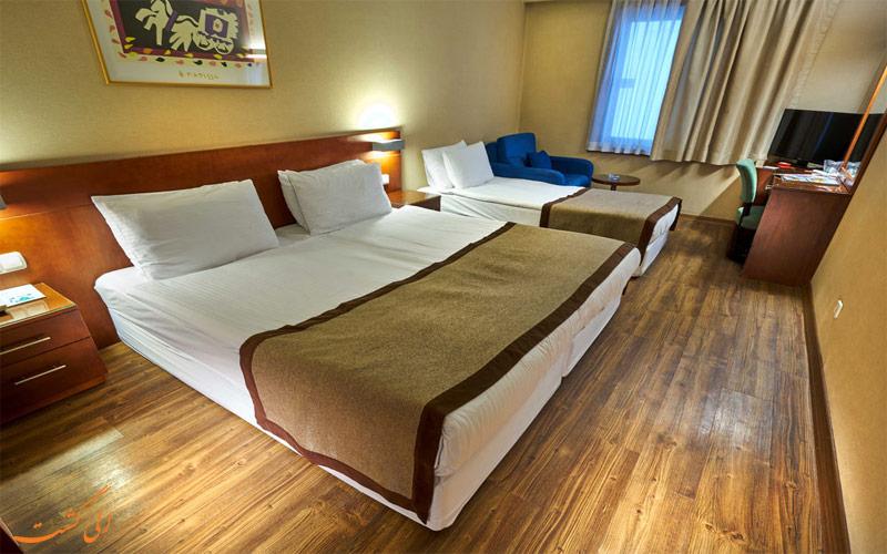 امکانات اتاق های هتل فرونیا استانبول