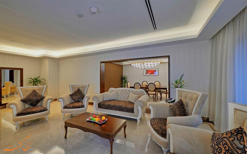 انواع اتاق های هتل هتل قایا گرند دبی