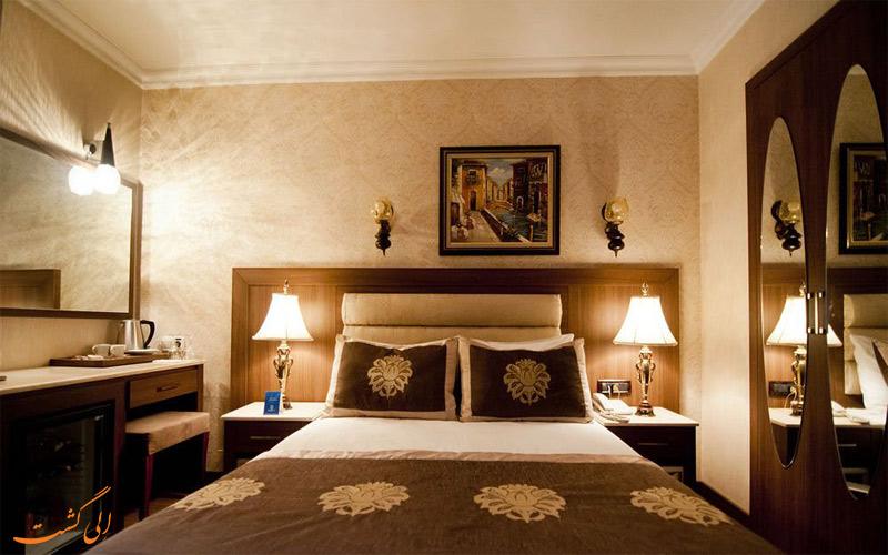 انواع اتاق در هتل گرند هیلاریوم استانبول