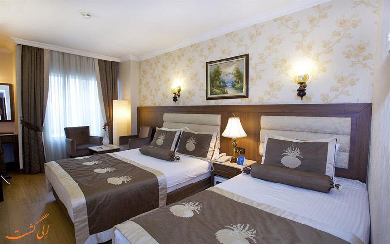 امکانات اتاق های هتل گرند هیلاریوم استانبول
