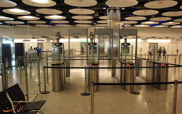 چالش بیومتریک فرودگاه دبی