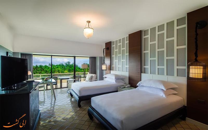 انواع اتاق های هتل هیلتون پوکت