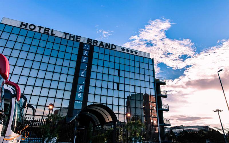 Hotel The Brand Roma- الی گشت- eligahst.com نمای رستوران