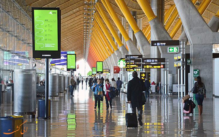 حمل و نقل فرودگاه باراخاس مادرید