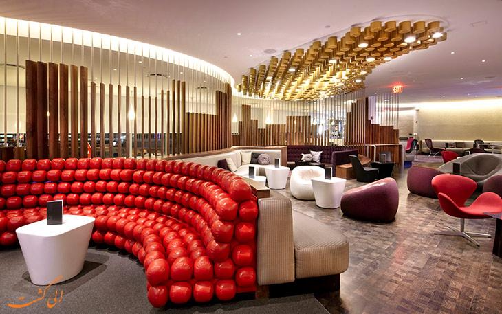 سالن استراحت ویرجین آتلانتیک