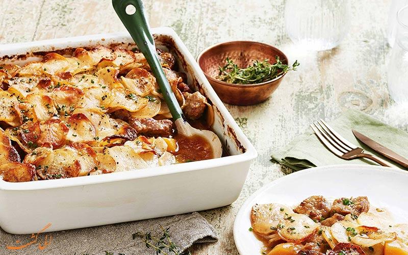غذای Lancashire Hotpot