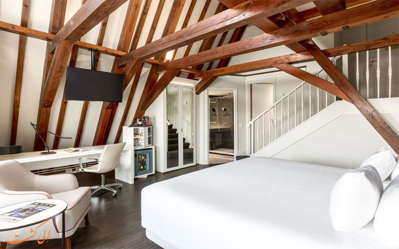 انواع اتاق های هتل ان اچ کالکشن آمستردام